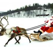 Chair of Joy at Christmas with Santa at Heaton Property