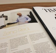 Zeno is interviewed for a week in the life