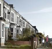 Street Scene in Heaton